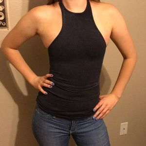 Tight fitting Free People racer back